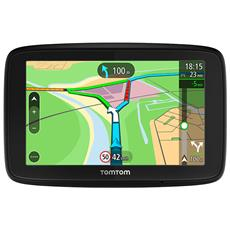 "Via 53 Navigatore per Auto Display 5"" Memoria 16GB +Slot MicroSD + Wi-Fi e Bluetooth con Mappe Europa 47 paesi + Traffic a Vita e Autovelox 3 mesi"