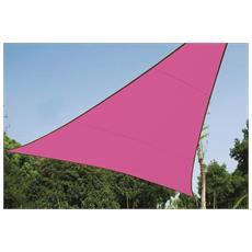 Telo da sole rosa 5 x 5 x 5 m