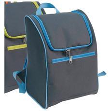 Zaino frigo da viaggio borsa termica capacita' 18 Lt vari colori