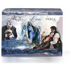 Via Della Musica (La) - Rigoletto / Traviata / Tosca Nei Luoghi (CE) (4 Dvd+Libro)