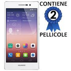 Pellicola Proteggi Display Per Huawei Ascend P7 Confezione 2 Pezzi