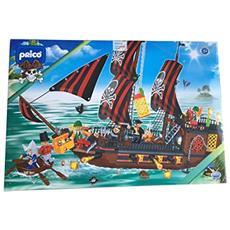 35456 Pricò - Pirati, galeone pirati 850 pz