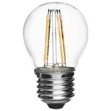 Vivida - E27 Goccia Filament Led 4w 4000k 410lm 30000 Ore