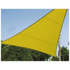 Triangolare vela solare gialla