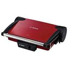 TFB4402V Bistecchiera Elettrica ContactGrill Potenza 1800 Watt Colore Rosso