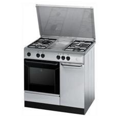K9G21S (X) / I S Cucina e Forno a Gas Dimensione 90 x 60 cm Colore Inox