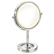 8435e-cura Persona E Bellezza -specchio Ingrandente 8luci Led Finitura Cromata