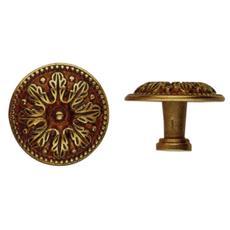 Pomolo per Mobili Oro Patinato Metal Style misura 25 mm