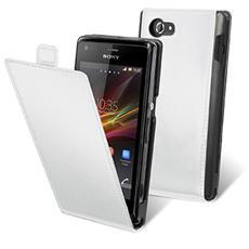 Flip Slim Case White Xperia M
