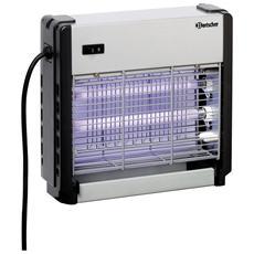 300306 Lampada elettro insetticida 27 x 27 con due lampade da 6W