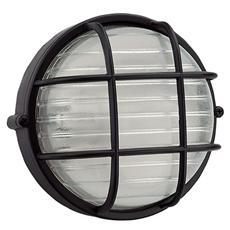 Plafoniera nera esterno attacco a soffito o parete E27 cm 19,2 x 10,2 H
