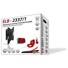 "Elb23371-mob. X Tv - Staffe A Muro Lcd -supp. Tv Flat 23-37"" 15kg 1snodo Con Livella"
