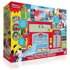 La Stazione Dei Pompieri Di Topolino Disney Clubhouse Con 2 Toys
