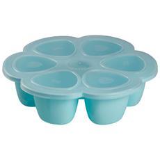 Piatto Congelatore Multi Porzione In Silicone 6x150ml Blu 912456
