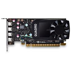 NVIDIA Quadro P600 2 GB GDDR5 Pci-E 4 x Mini DisplayPort RICONDIZIONATO