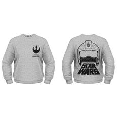 Star Wars - The Force Awakens - X-Wing Fighter Helmet (Felpa Unisex Tg. L)