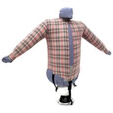Stira asciuga camicie in automatico. StirAsciugatore SA01 Manichino ad aria calda per camicie, camicette, polo, felpe