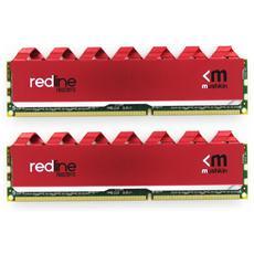 Memoria Dimm Redline 16GB (2 x 8GB) DDR4 2666MHz CL16 Colore Rosso