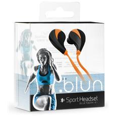 Auricolari Sportivi Bluetooth Universali - Rq5 Arancioni