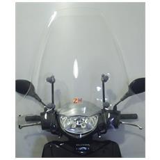 Parabrezza Completo Di Attacchi Specifici Suzuki Sixteen 125 150 Trasparente
