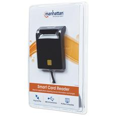 I-CARD CAM-USB2MH - Lettore / Scrittore di Smart Card USB Compatto Nero