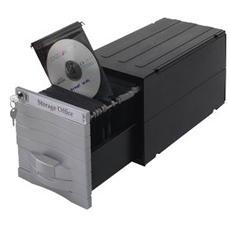 pz. 1 MediaSolutions. Nero / silver. Cap160 CD / DVD Exponent 3460