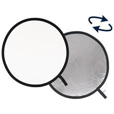 Pannello circolare Arg. / Bianco Ø 75 cm
