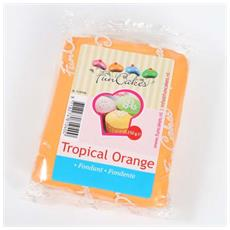 Pasta di zucchero orange 250gr