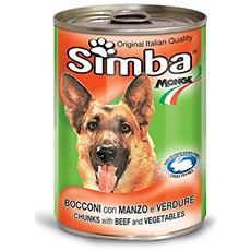 Simba Cane, Bocconi Manzo E Verdure Gr 1230