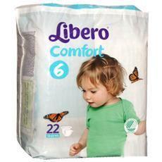 Mis. 6 Comfort 12-22kg 22 Pannolini