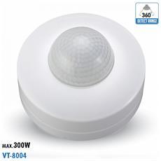 Sensore Di Movimento A Infrarossi Ip20 Interno Vt-8004 4968