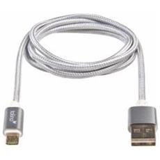 8718969055413, USB A, Micro-USB A, Maschio / femmina, Dritto, Dritto, Argento