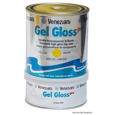 Smalto bicomponente Gel Gloss rosso