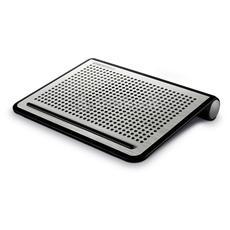 TwisterOdio, Nero, Argento, 352 x 270 x 52 mm, 784g, Alluminio, Plastica, 2W, 140 - 20000 Hz