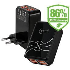 Smart Charger 4800, Interno, Universale, USB, Nero, 110 - 240V, 5V