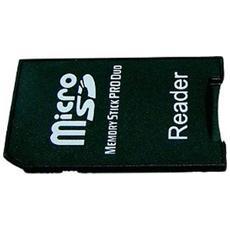 Adattatore Da Micro Sd A Ms Memory Stick Pro Duo