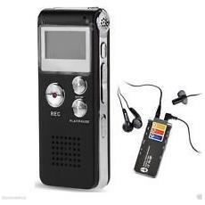 Registratore Mini Digitale Per Business 8gb Vocale E Telefonico Vox Con Presa Usb Ricaricabile