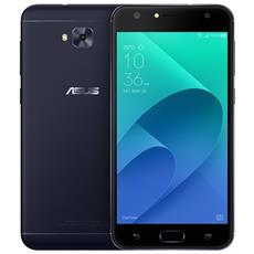 "ZenFone 4 Selfie Nero 64 GB 4G / LTE Dual Sim Display 5.5"" Full HD Slot Micro SD Fotocamera 20 Mpx Android Italia"