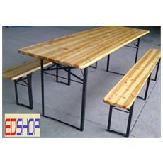 Set tavoli da giardino con sedie prezzi e offerte set tavoli da giardino con sedie eprice - Tavoli da birreria 220x80 ...