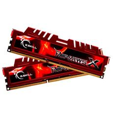 Memoria Dimm RipjawsX 16 GB (2 x 8GB) DDR3 1600 Mhz CL10 Non-ECC Dissipatore Rosso