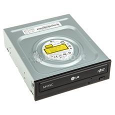 Masterizzatore Interno DVD-RW GH24NSB0 Dual Layer 24x Interfaccia Sata Versione Bulk Colore Nero
