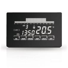 Termostato Cronotermostato CH191 Fantini Cosmi ultrapiatto touch-screen