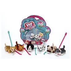 Pet Parade - Blister Singolo Cani - Terrier Marrone - 1 Cagnolino + Accessori