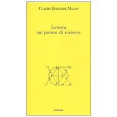 Lettera sul potere di scrivere