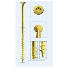 Viti Per Legno Truciolare 8x380 Sch Holz Technic Confezione Da 50 Pz
