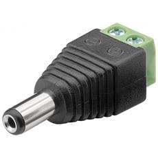 IADAP TB2-DC5521MM - Adattatore Terminal Block 2 pin a DC Maschio (5.50 x 2.10 mm)