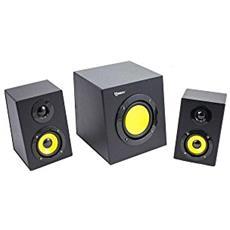 ICSB-SP4100 - Sistema Speaker Stereo con Subwoofer 2.1 12W Nero