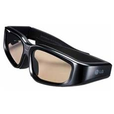 Occhiali 3D LG AG-S100 Per Televisione - Shutter - 7,01 m - LCD - 500:1 - 3,50 ms - Infrarossi - Batteria ricaricabile