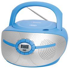 Radioregistratore C / Cd Bluetooth Blu