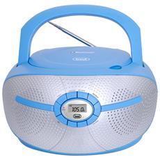 Stereo Portatile Cd Mp3 Bluetooth Cmp 552 Bt Blu